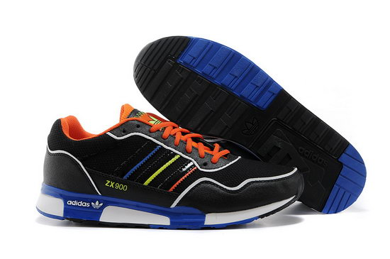 Mens Adidas Zx 900 Black Blue Orange France